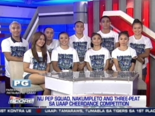 The Score: NU Pep Squad gets 3-peat championship