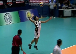 NCAA 91 Men's Volleyball: UPHSD vs EAC Game Highlights