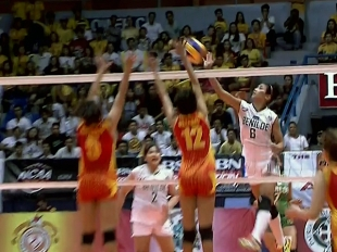 NCAA 91 Women's Volleyball: CSB vs SSC-R Game Highlights