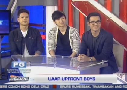 The Score: UAAP Upfront Boys