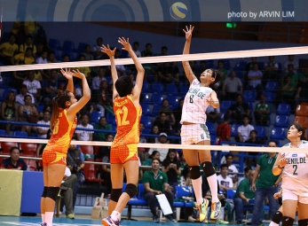 NCAA 91 WV Championship: Jeanette Panaga wins it for CSB!