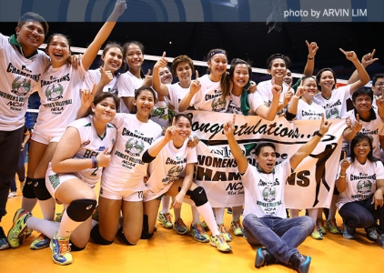 The Score: CSB Lady Blazers, NCAA Women's Volleyball Champs