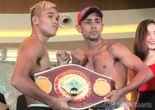 PINOY PRIDE 35: Stars of the Future OFFICIAL WEIGH-INS