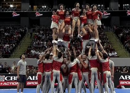 NCAA 91 Cheerleading Competition: LPU Pep Squad