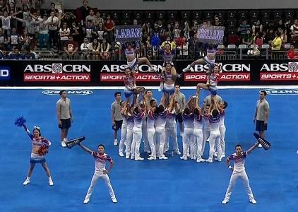 NCAA 91 Cheerleading Competition: Arellano Chiefs Squad
