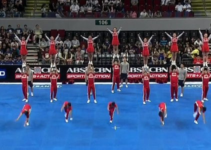 NCAA 91 Cheerleading Competition: San Beda Red Corps