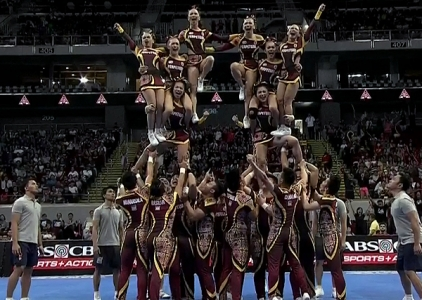 NCAA 91 Cheerleading Competition: Perpetual Altas Perpsquad
