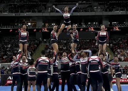 NCAA 91 Cheerleading Competition: Lakas Arriba Cheerleading